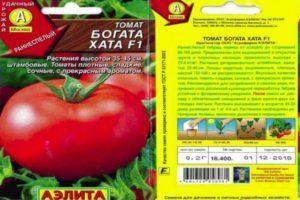 Характеристика и описание сорта томатов Богата хата, условия выращивания