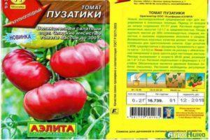 Описание томата Пузатики, достоинства и недостатки сорта