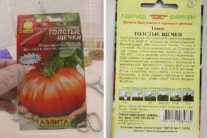 Описание томата Толстые щечки, преимущества и недостатки сорта