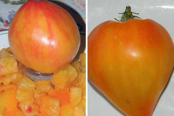 Сердцевидные томаты