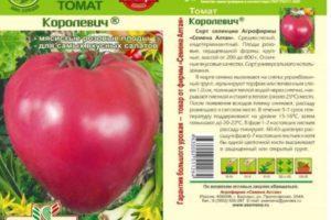 Описание сердцевидного томата Королевич и особенности выращивания