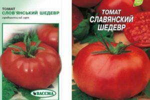 Описание томата Славянский шедевр и технические характеристики растения