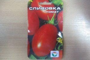 Характеристика сорта томата Сливовка и описание плодов