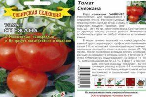 Описание томата Снежана, выращивание и уход за помидорами