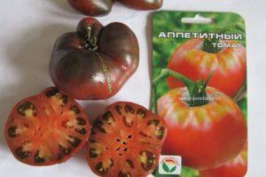 Описание розового томата Аппетитный и выращивание в открытом грунте