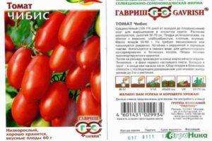 Описание томата Чибис, особенности выращивания и урожайность