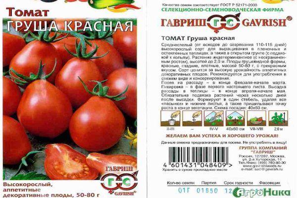 Грушевидные томаты