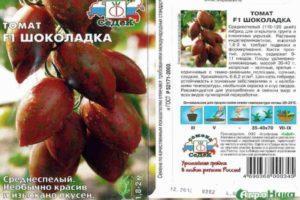 Описание экзотического томата сорта Шоколадка и выращивание в огороде