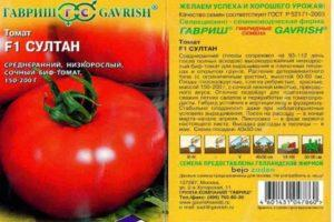 Описание томата Султан f1 и выращивание гибрида