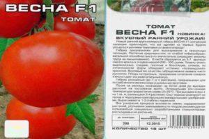 Преимущества томата Весна F1 и правила выращивания гибридного сорта