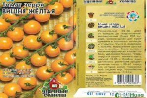 Описание томата Вишня Желтая и правила выращивания сорта