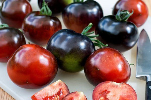 Синие томаты