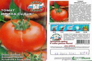 Описание сорта томата Ирина F1, его характеристика и урожайность