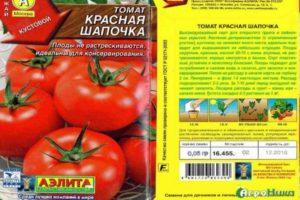 Описание сорта томата Красная шапочка, особенности выращивания и ухода