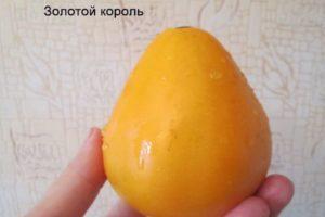 Описание томата Золотой король и рекомендации по выращиванию сорта