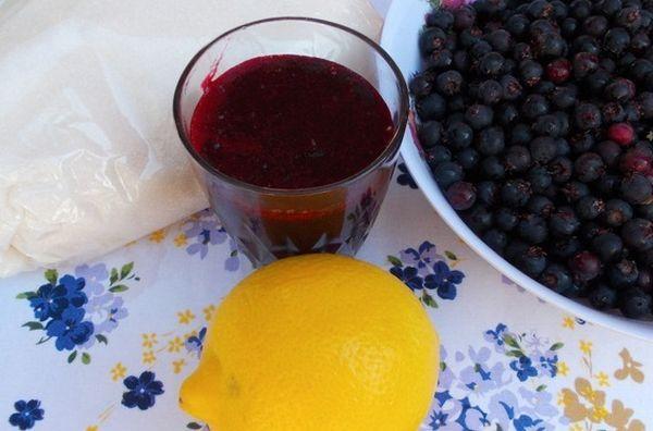 Ирга и лимон