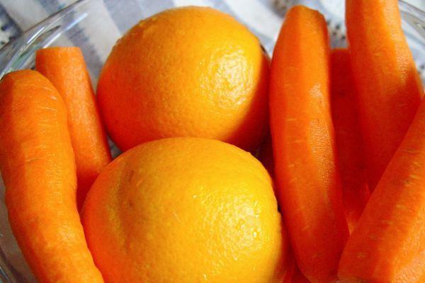 Морковь и апельсины