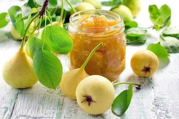 повидло из груши и лимона