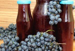Рецепты приготовления виноградного сока на зиму в домашних условиях