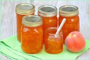Как приготовить из персиков густое повидло на зиму, простые рецепты и хранение заготовок