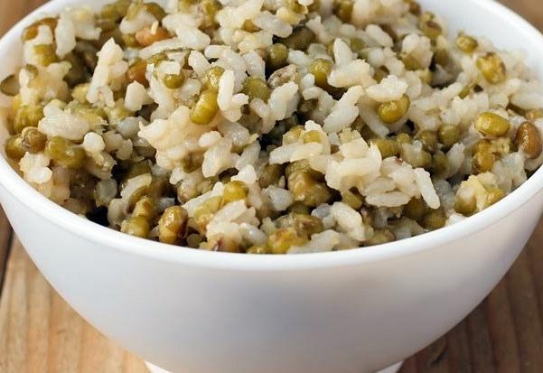 рис с фасоли маш