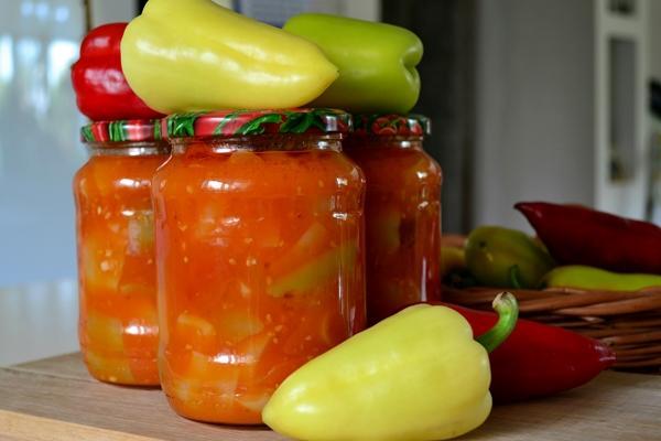 перцы в томате
