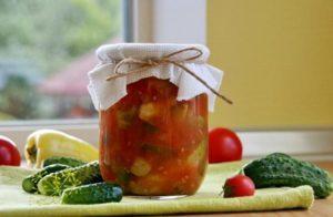 Как приготовить лечо из огурцов на зиму, простые пошаговые рецепты и условия хранения