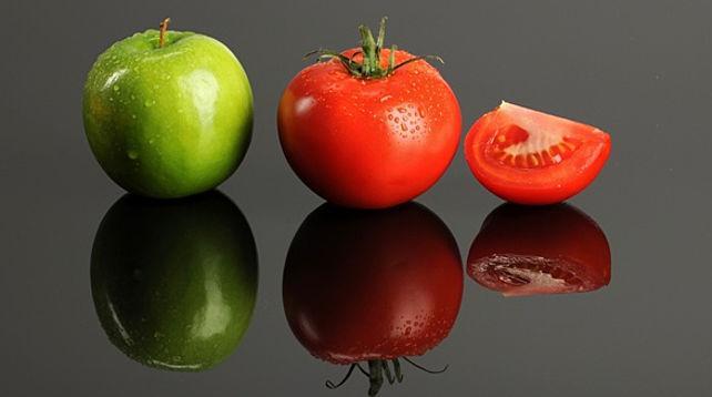 помидоры и яблоки на зиму