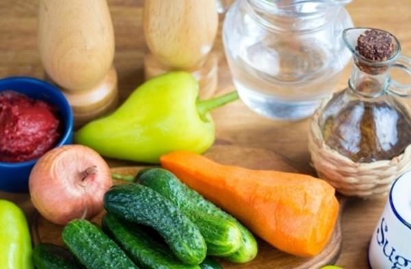 ингредиенты для лечо с огурцами