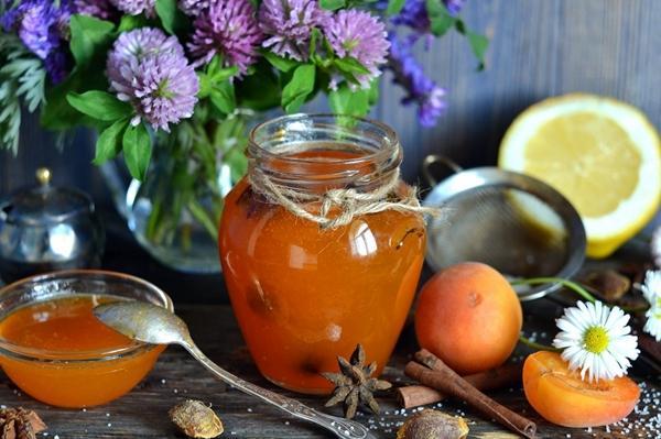 абрикосовый джем с лимоном