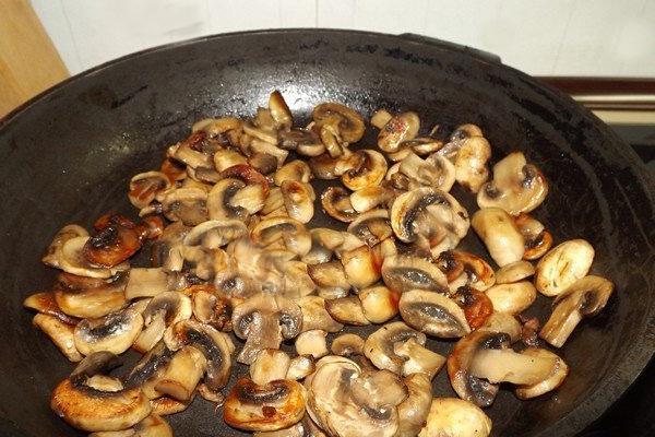 жарка грибов