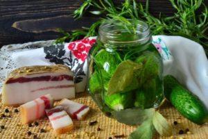 Маринованные огурцы с эстрагоном на зиму, простой рецепт засолки на зиму