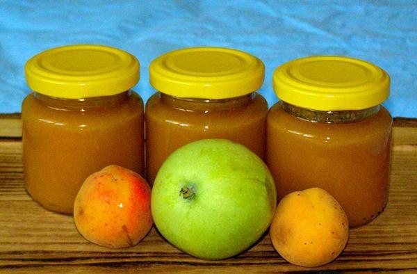 пюре из абрикосов и яблок на зиму