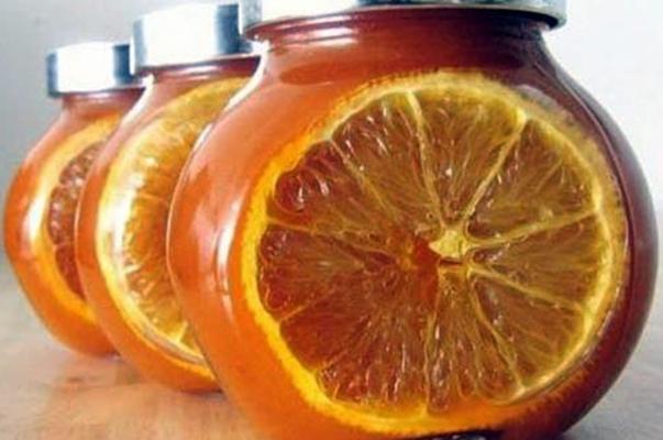 абрикосовое варенье с дольками апельсина
