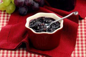 Пошаговые рецепты джема и конфитюра из винограда с косточками и без, в мультиварке и на плите