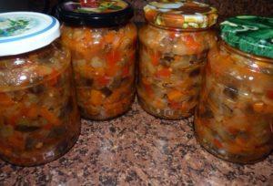 Лучшие рецепты вкусных баклажанов с кабачками на зиму и сроки хранения заготовки
