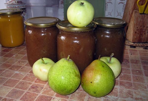 повидло из груши и яблок