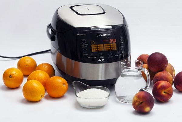 ингредиенты для варенья из персиков