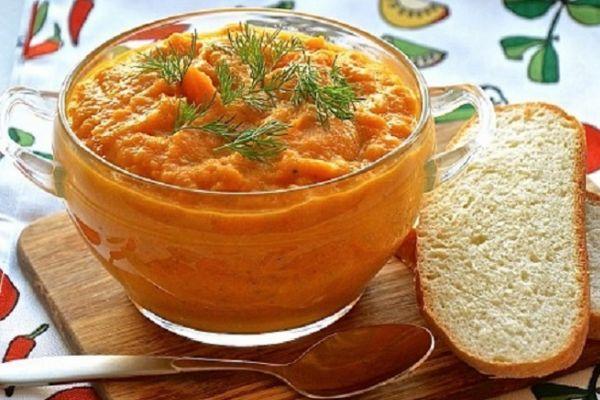 Икра с морковью