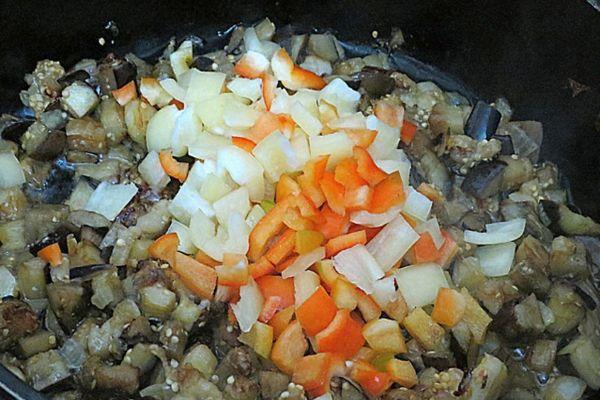 Поджаривание овощей