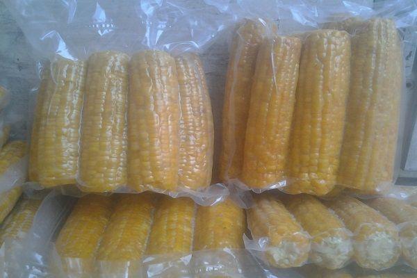 Кукуруза в пакетах