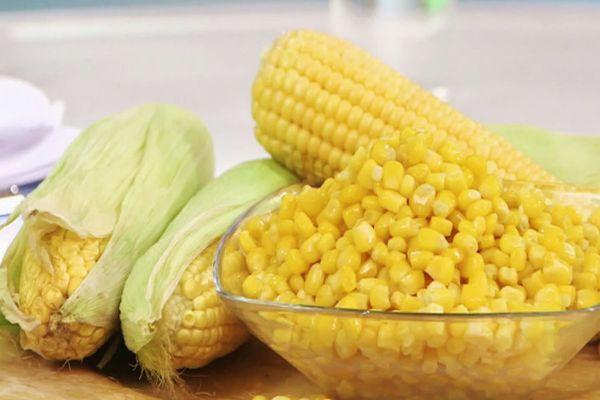 Заготовка из кукурузы