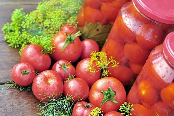 помидоры в медовой заливке
