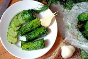 ТОП 10 рецептов быстрого приготовления малосольных хрустящих огурцов холодным и горячим способом в кастрюле