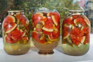 Вкусные и быстрые рецепты приготовления маринованных арбузов в банках на зиму, как сохранить заготовку