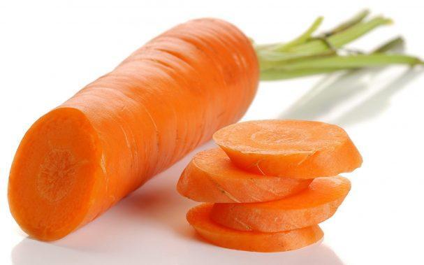 резанная морковь