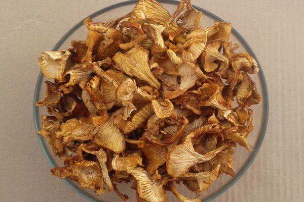 Сухие грибы