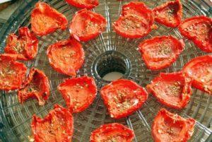 Как приготовить вяленые помидоры в электросушилке для овощей в домашних условиях и хранение