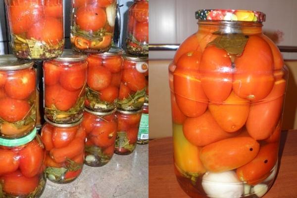 варианты приготовления помидоров по болгарски