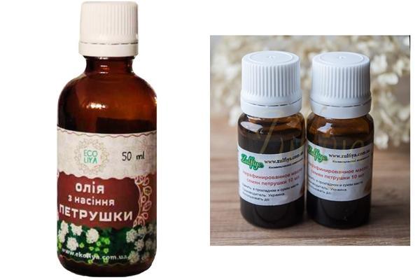 масло из семян петрушки